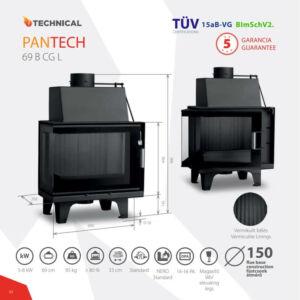 Technical Pantech 69 B CGL kandallóbetét