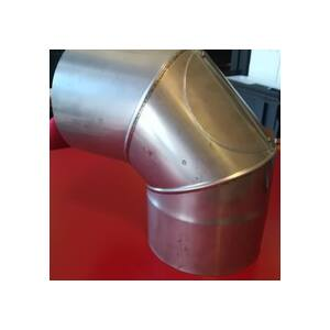 Kéménycső H-150 90° tisztítható könyök idom