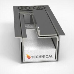 Biokandalló égő 28 cm - Rozsdamentes acélból