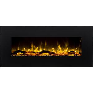 ALIZ 110 elektromos tűztér fekete