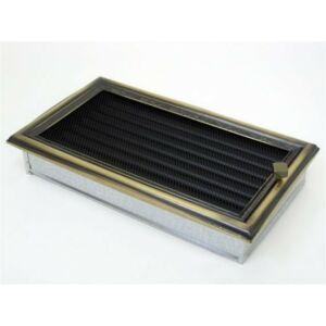 Rusztikus kandalló szellőzőrács - zsalus 17x30 cm