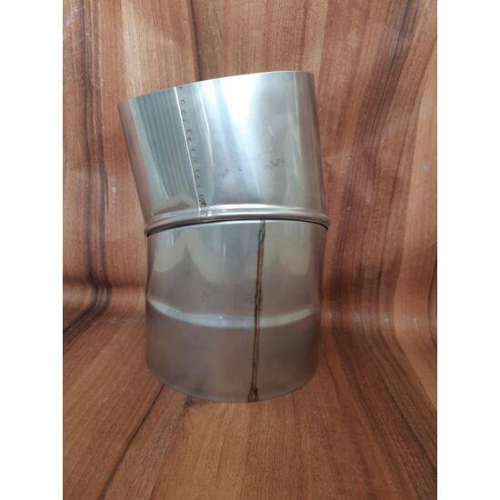 Kéménycső H-150  0-45° állítható könyök