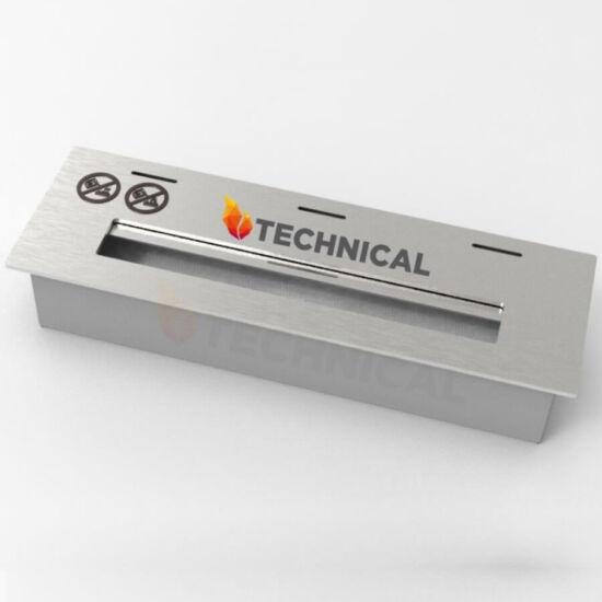 Etanol kandallóégőfej 31 cm - Rozsdamentes acélból