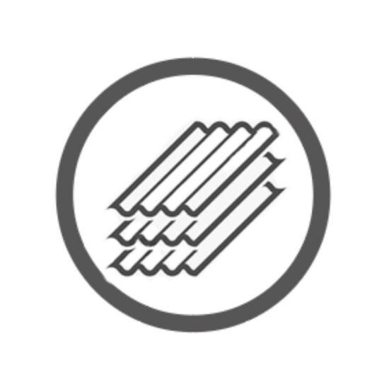 PanAqua 80 EVO Nero Zárt égéstér - Vermikulit bélés