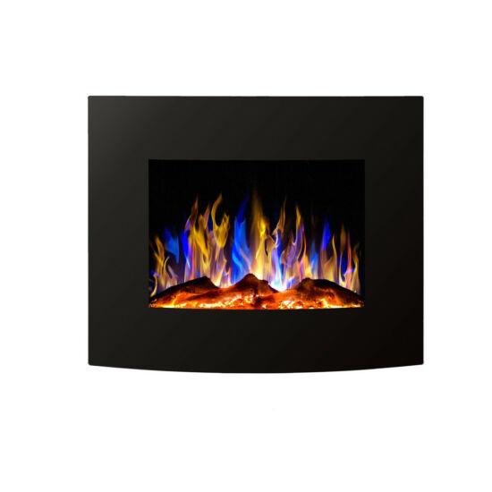 MALINS 65 elektromos tűztér fekete